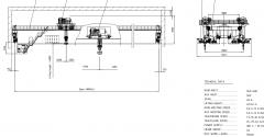 出口造船厂桥式竞技宝官网 QE320-46-40T